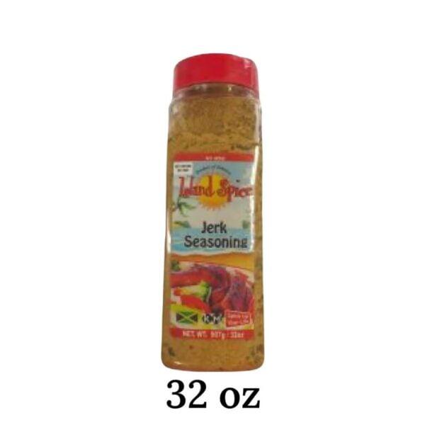 Jerk Seasoning 32 oz Island Spice
