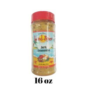 Jerk Seasoning 16 oz Island Spice