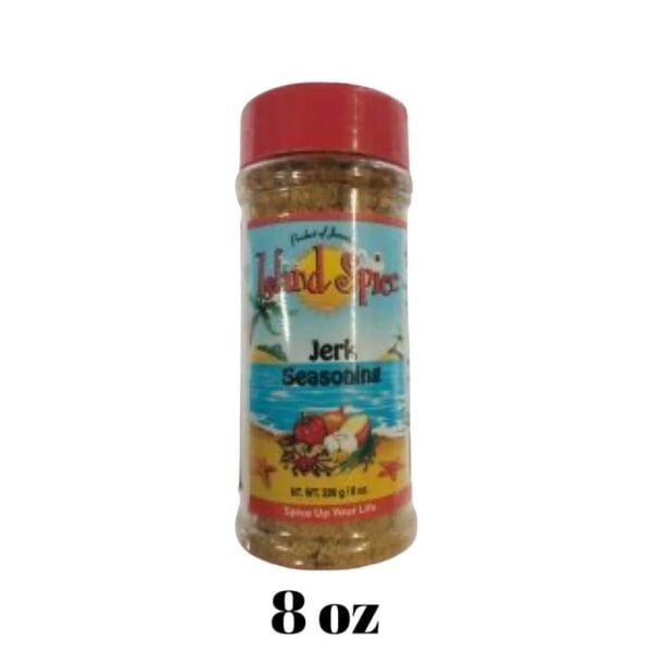 Jerk Seasoning 8 oz Island Spice