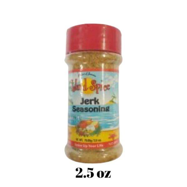 Jerk Seasoning 2.5 oz Island Spice