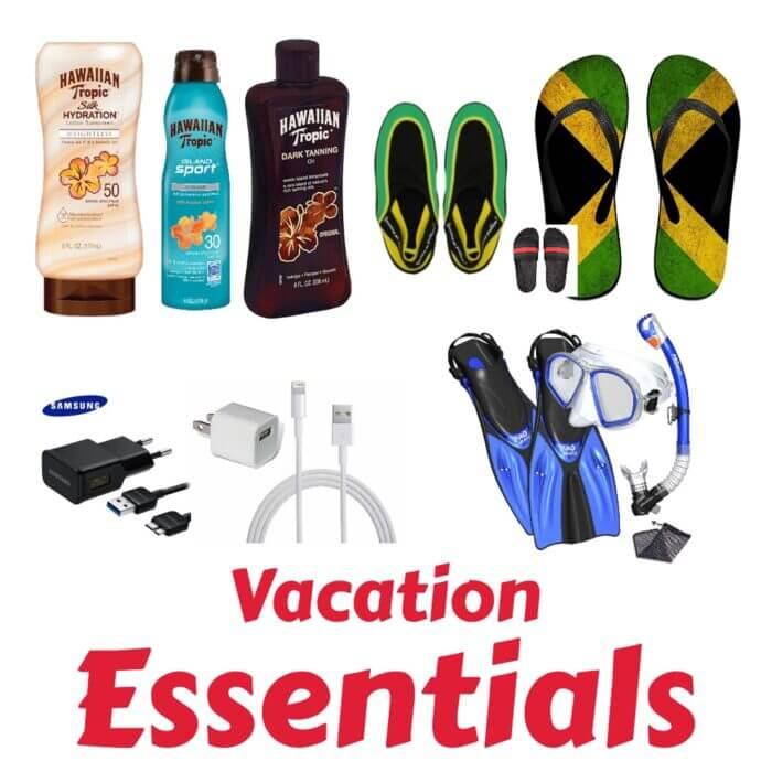 Vacation Essentials